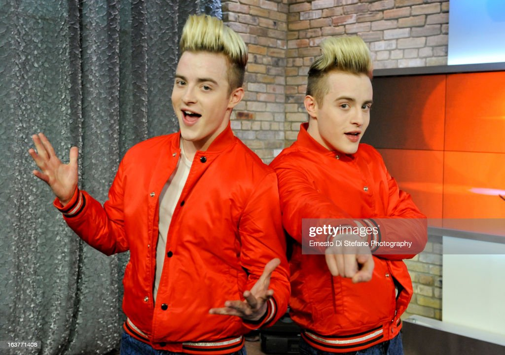 "Irish Pop Sensation Jedward Appears On ""The Marilyn Denis Show"""