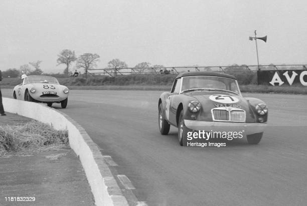 Twin cam, D G Dixon, Ecurie Chiltern, Silverstone 9th May 1959. Creator: Unknown.