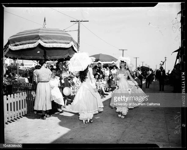Twin convention in Huntington Beach 2 September 1951 Martha Neff Marion NeffMary Jean Johaun Martha Jean JohaunPatsy Bloom Peggy BloomLloyd Armstrong...