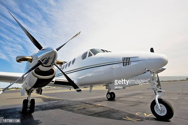 Motor de avión MkII con camas gemelas