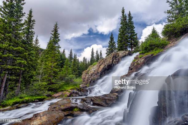 twin falls - national forest stock pictures, royalty-free photos & images