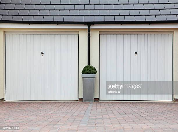 twin garage.