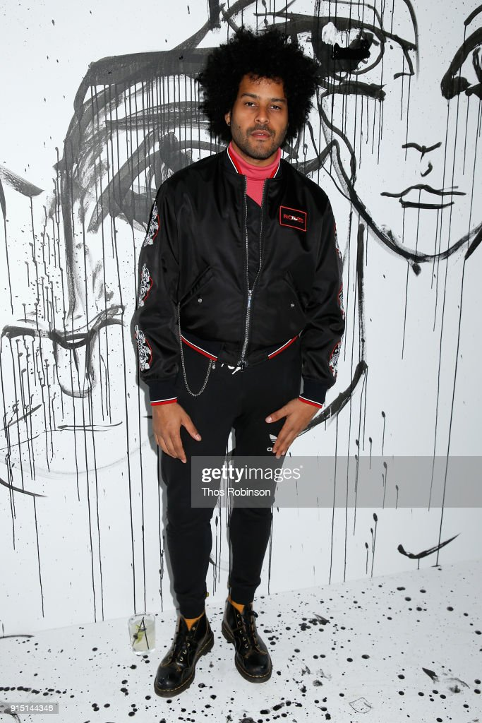 Twin Shadow attends the Dior Spring-Summer 2018 Collection launch event at Milk Garage on February 6, 2018 in New York City.
