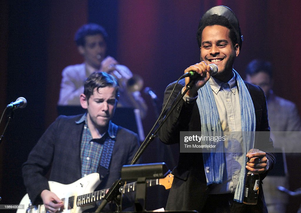 Twin Shadow performs during The Last Waltz Tribute Concert at The Warfield on November 24, 2012 in San Francisco, California.