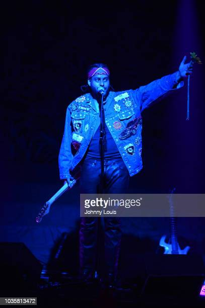 Twin Shadow performs on stage at Revolution Live on September 18 2018 in Fort Lauderdale Florida