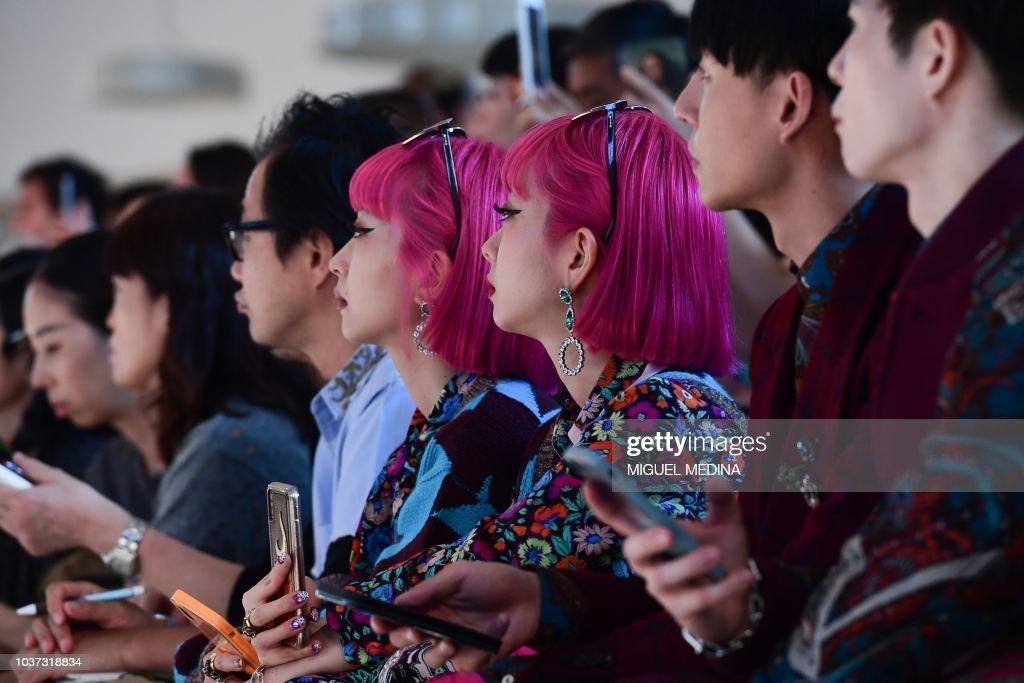 Etro - Front Row - Milan Fashion Week Spring/Summer 2019