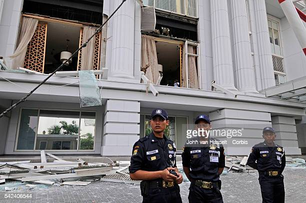 Twin terrorist bomb attacks in Jakarta hit two luxury hotels the Marriott Hotel and Ritz-Carlton Hotel leaving 9 dead and 41 injured. Police have...
