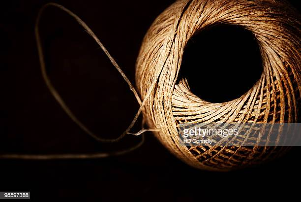 Twine with black background