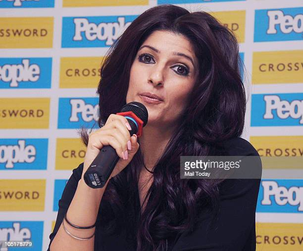 Twinkle Khanna at the launch of a magazine issue in Mumbai on October 8 2010