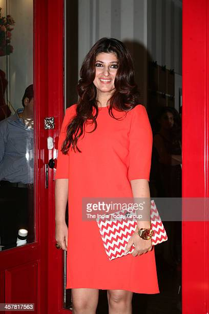 Twinkle Khanna at the launch of Sussanne Roshan Seema Khan and Maheep Kapoors luxury concept retail boutique Bandra 190 in Mumbai