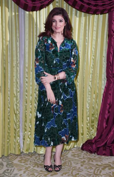 Twinkle Khanna attends a photocall for `Pad Man` at The Bentley Hotel on January 18 2018 in London England