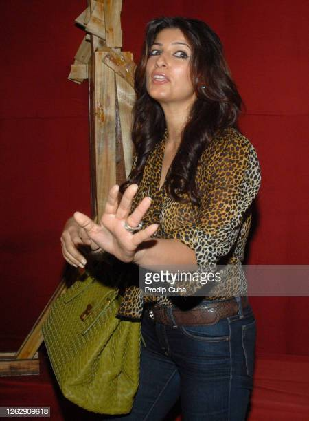 Twinkle Khanna attends the charitable foundation Sahachari's Shopping Extravaganza at the World Trade Centre on September 01 2009 in Mumbai India