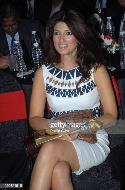 Twinkle Khanna attends the CNBC Awards on September 26 2008 in Mumbai India