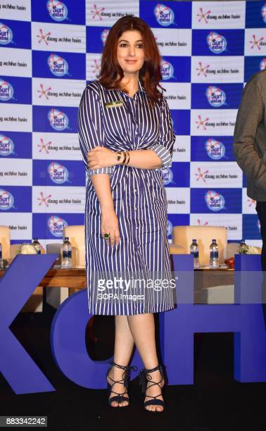 Twinkle Khanna film actress Ms Priya Nair at the launch of Surf excels latest campaign #HaarKoHarao in Mumbai at hotel Taj Lands End in Mumbai