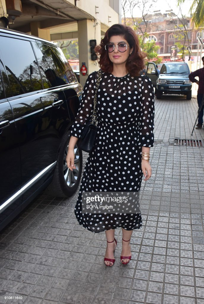 Twinkle Khanna seen during the event PVR NEST host a Pretty Powerful Padman Awards at the grand finale of Shes Ambassador Program with Priya Dutt...