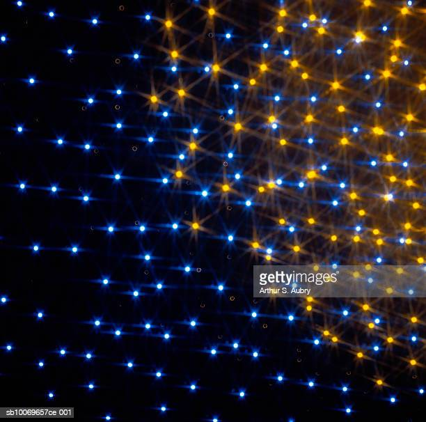 Twinkling lights, digitally generated