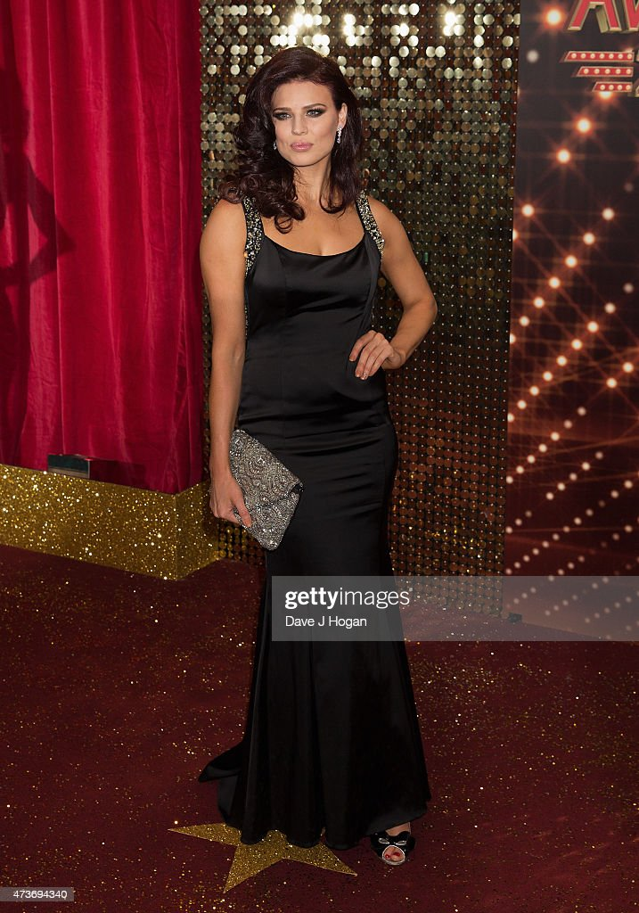 Twinnie Lee Moore attends the British Soap Awards at Manchester Palace Theatre on May 16, 2015 in Manchester, England.
