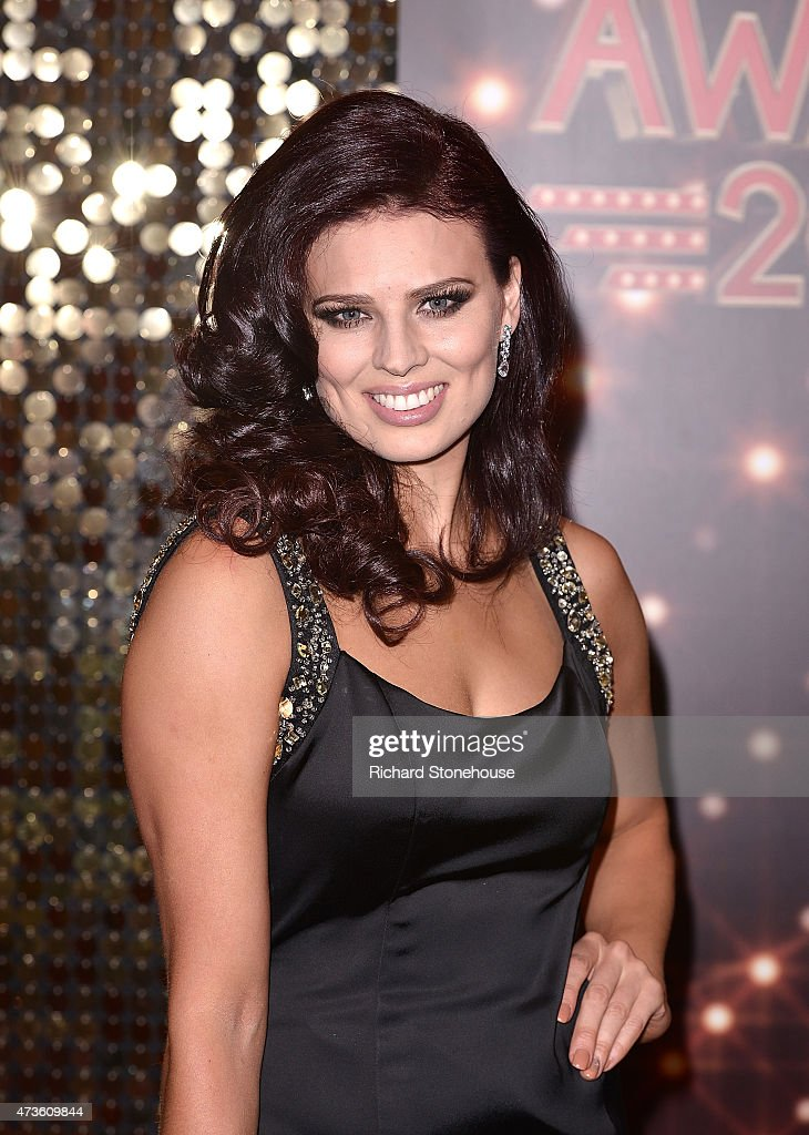 Twinnie Lee-Moore attends the British Soap Awards at Manchester Palace Theatre on May 16, 2015 in Manchester, England.