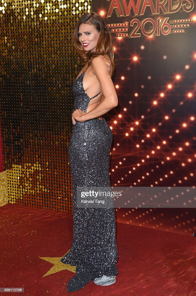 Twinnie-Lee Moore arrives for the British Soap Awards 2016 at the Hackney Town Hall Assembly Rooms on May 28, 2016 in London, England.