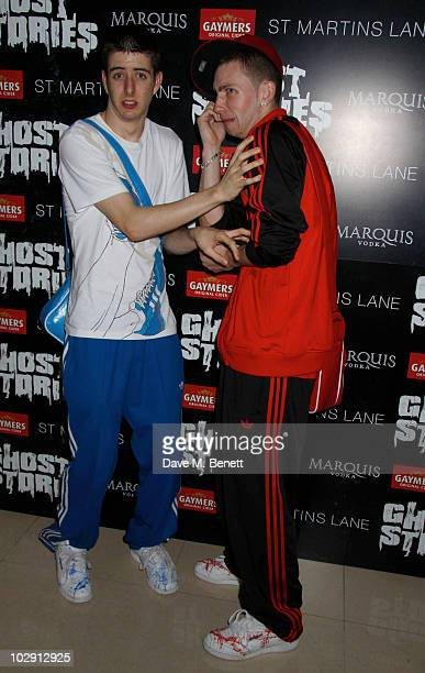Twist and Pulse attend the Ghost Stories Press Night Party held on July 14 2010 at the St Martins Lane Hotel in London England