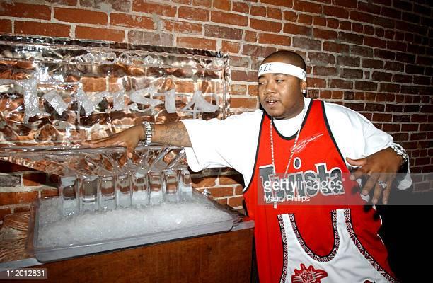 Twista during Twista Celebrates his Double Platinum Success at Ivar in Hollywood California United States