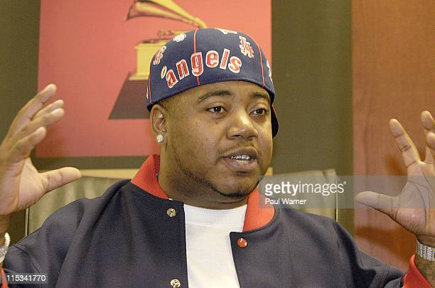 Twista takes a question from the audience at the Grammy Soundcheck