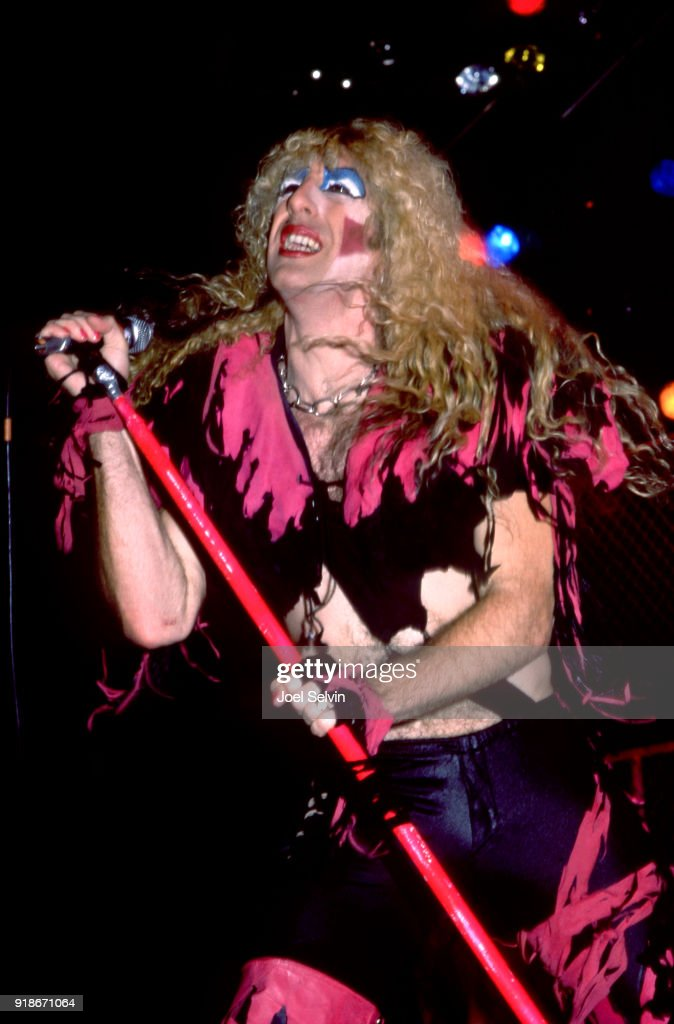 Twisted Sister lead vocalist Dee Snider appears March 21, 1985 as the opening act of the Iron Maiden concert at the Cow Palace in San Francisco.