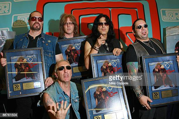Twisted Sister promotes the 25th Anniversary Edition of Stay Hungry at JR Music and Computer World on June 30 2009 in New York City