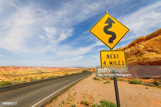 twisty road - road sign stock pictures, royalty-free photos & images