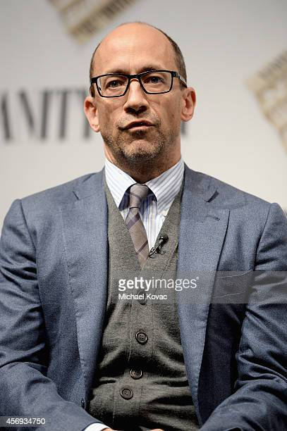 """Twitter CEO Dick Costolo speaks onstage during """"Social Goes Global"""" at the Vanity Fair New Establishment Summit at Yerba Buena Center for the Arts on..."""