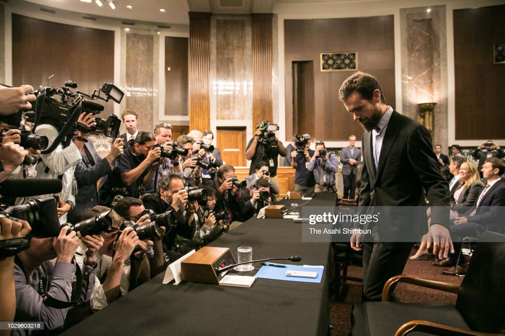Twitter Chief Executive Officer Jack Dorsey Testifies During A House News Photo Getty Images