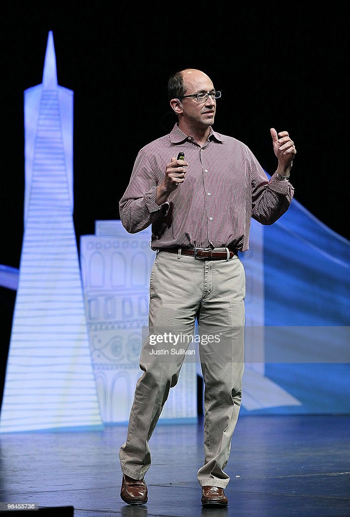 Twitter COO Dick Costolo speaks during the first annual Chirp, Twitter Developer's Conference April 14, 2010 in San Francisco, California. Chirp, the Twitter Devloper's Conference is a two day event for developers who work with the popular social networking service.