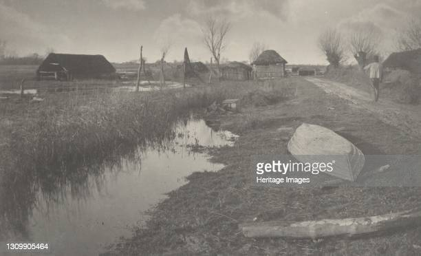 Twixt Land and Water, 1886. Artist Dr Peter Henry Emerson, Thomas Frederick Goodall. .