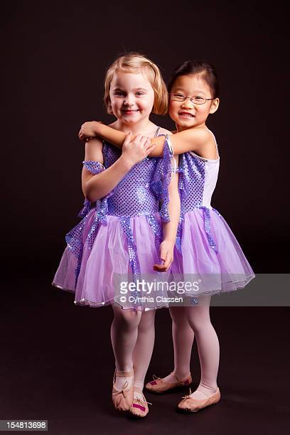 Two 5-Year-Old Girls, Dancers