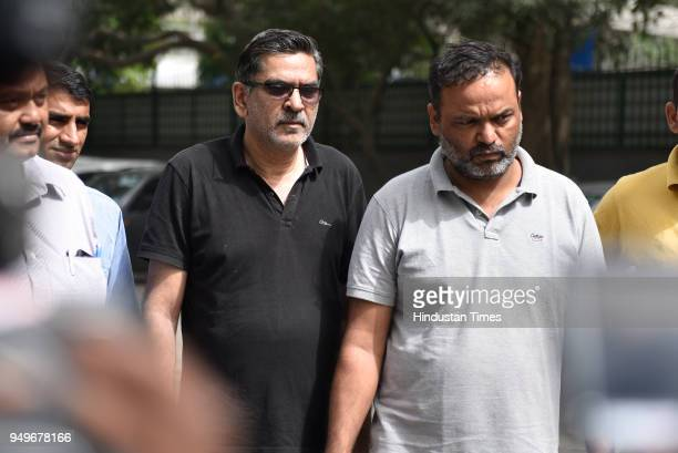 Two accused Deepak Jangra and Deepak Malhotra arrested by cyber cell for cheating people on the trade of Bitcoins and were taken to Police...