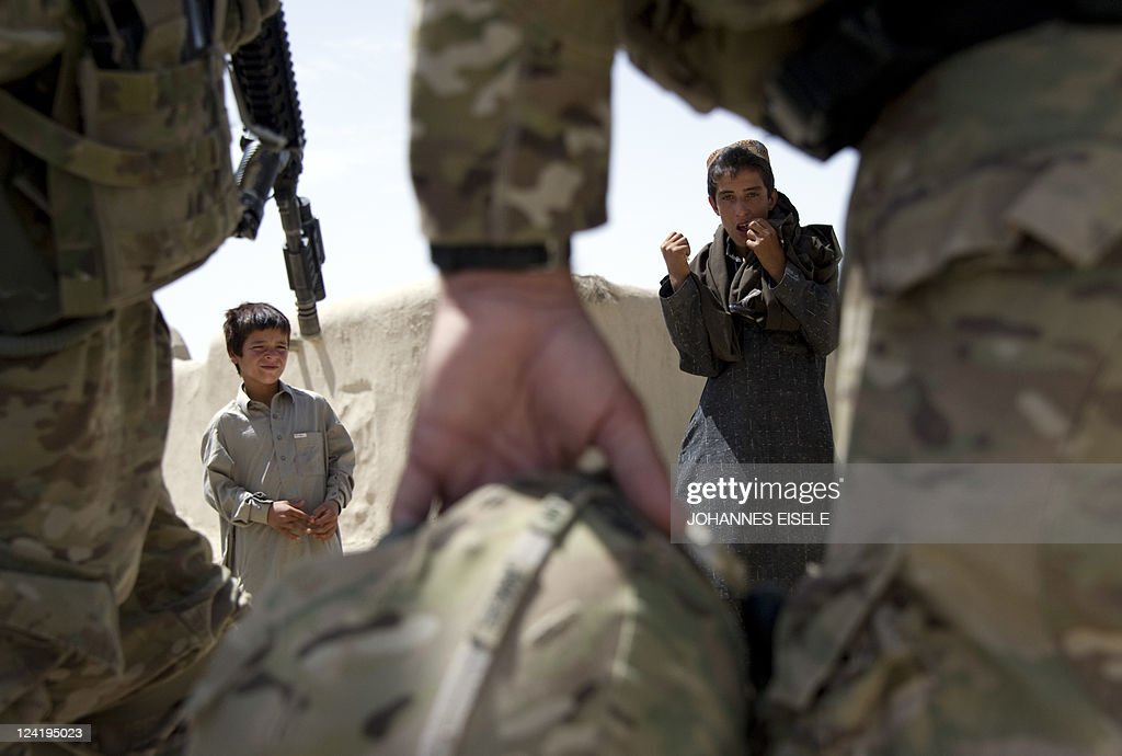 Talk to soldiers