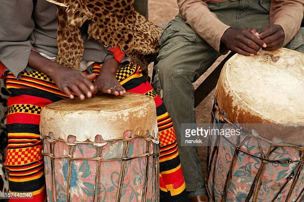 Two African Drummers