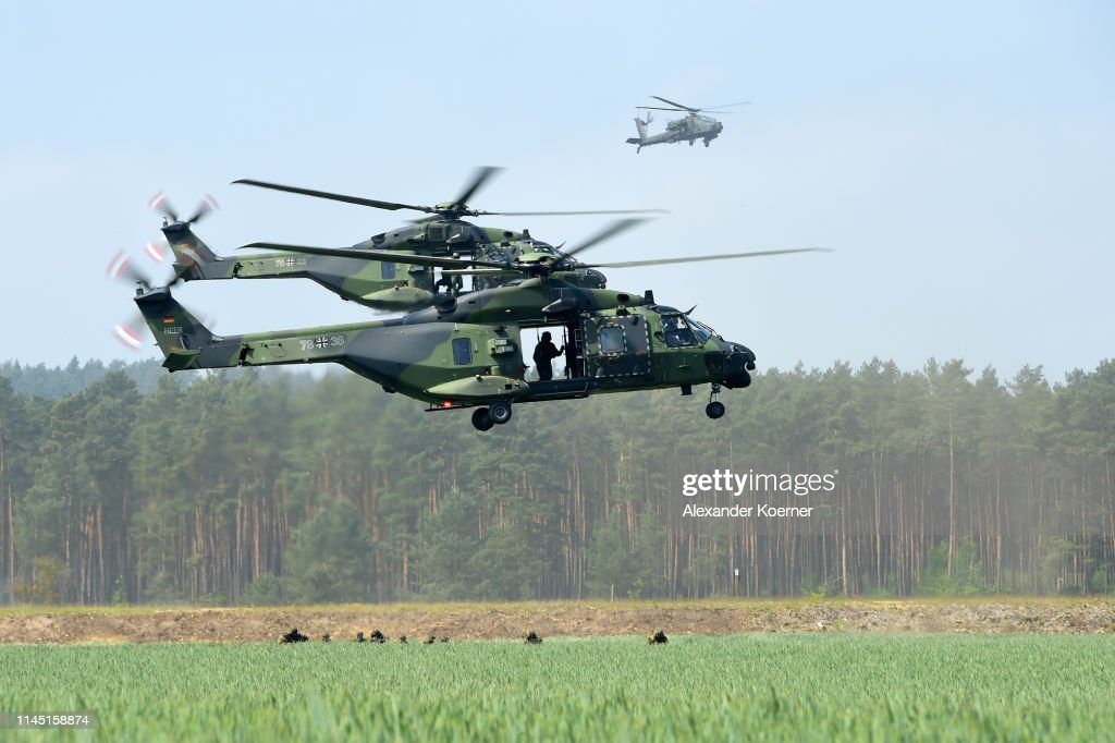 "DEU: German/Dutch DSK Division Holds ""Green Griffin"" Military Exercise"
