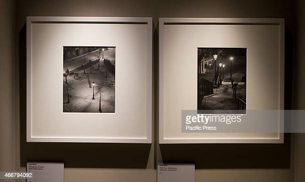 Two Andre Kertesz photos of Paris on display in Palazzo Chiablese Turin