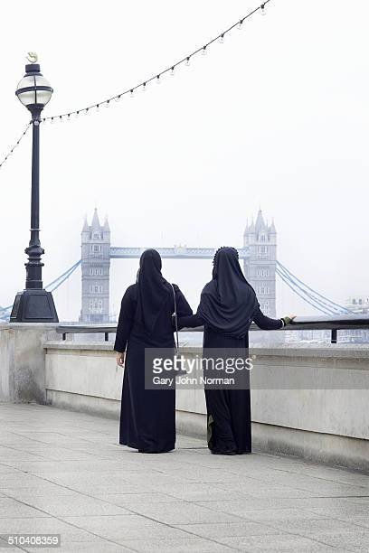Two arab women in London