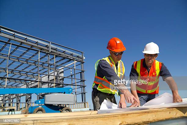 two architects - construction frame stock pictures, royalty-free photos & images