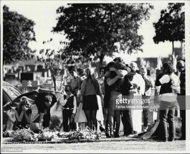 Two Bandido's were given a funeral at Rockwood Cemetary September 7 1984