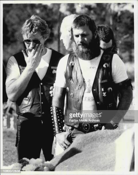 Two Bandido's were given a funeral at Rockwood cemetery September 07 1984