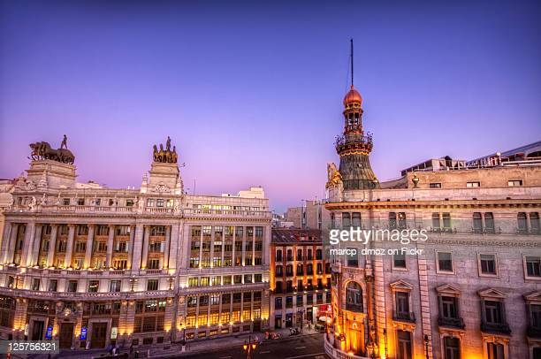 Two Banks in Madrid