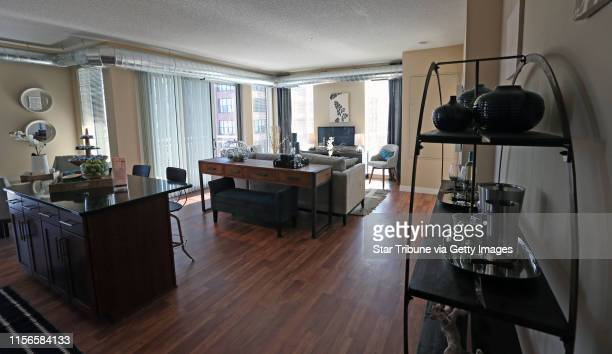 Two bedroom unit at the Penfield apartments in downtown St Paul on 2/6/14 After 10 years of planning downsizing and finally a takeover by the city...