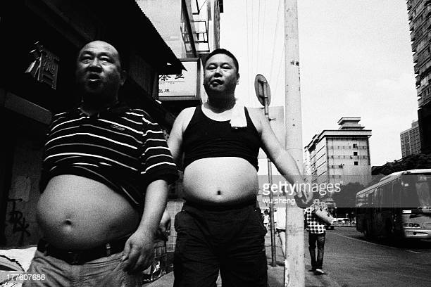 Two big belly