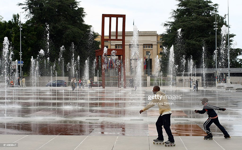 United Nations Office In Geneva : News Photo