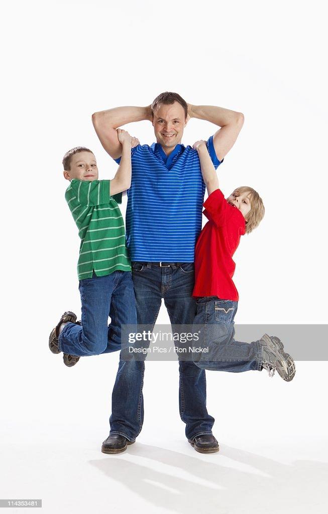Hang in their boys