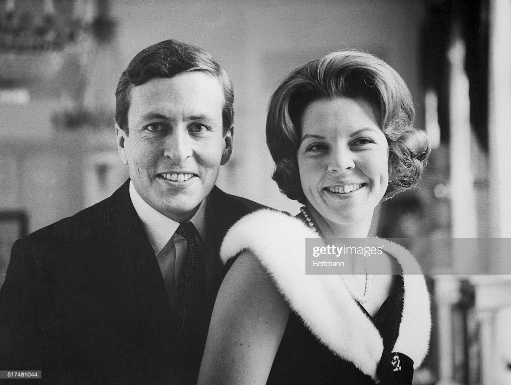 Portrait of Princess Beatrix and Claus Von Amsberg : ニュース写真