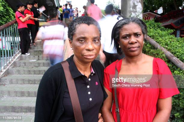 Two British from North London Mary Idowu 59 and Esther JubrilBadmos were beaten and randomly detained after quarreling in a Guangzhou shop selling...